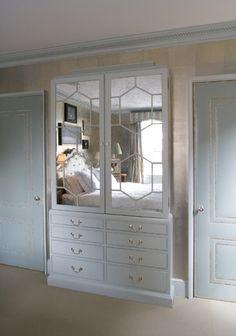 Miles Redd upholstered doors