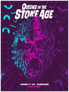 Queens of the Stone Age #gig #music #poster