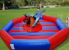 Mechanical Bulls for rent: Mechanical Bull Bucking Machine Rentals,