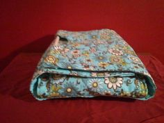 blue and lime floral casserole carrier by NurseswithNotions, $30.00
