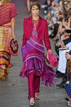 """Missoni »  Spring 2012 RTW » This makes me think """"21st Century Pacific Rim Business Casual""""."""
