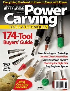 Woodcarving Illustrated: Power Carving Tools & Techniques Woodcarving Illustrated http://www.amazon.com/dp/B007AGKWAU/ref=cm_sw_r_pi_dp_O7Vmvb1VCVC4Y