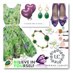 """""""Urban Carats Jewelry Contest"""" by tanja-871 ❤ liked on Polyvore featuring Elie Saab, Valentino and Diesel"""