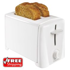 2 Slice Toaster Toast boost lifts English Muffins Breads Auto Shutoff for Safety #ProctorSilex