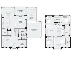 Franklin 40, New Home Floor Plans, Interactive House Plans - Metricon Homes - Melbourne