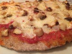 Impasto Pizza con farina integrale e grano saraceno e poco lievito Kenwood