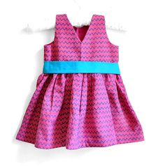 Baby Dress  Baby Girl Dress  Size 3  6 months  by PaisleyMagic, $29.99