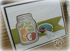 Stampsnsmiles: A Brand New Tutorial! Summer Harvest in a Jar!