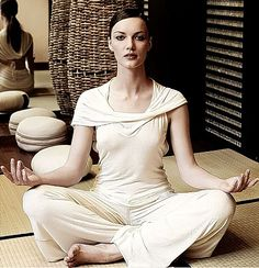 22 best yoga pics of famous people and pro athletes images