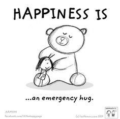 Having a rough day? Need a hug?