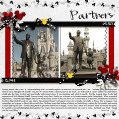 SS159: Partners - MouseScrappers - Disney Scrapbooking Gallery