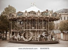 Antique Carousel....this was my oldest daughters theme for her nursery. Love Carousels !!!!