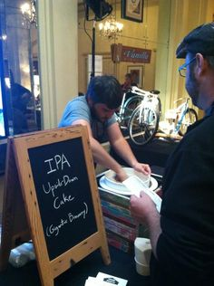 Twitter / hotel_deluxe: Scooping the IPA upside down ...