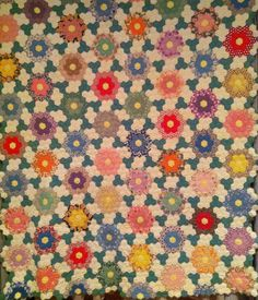 Grandmother's Flower Garden, antique