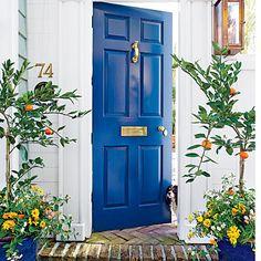 Remodelaholic | 50 Beautiful Doors + Front Door Paint Colors