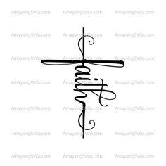 Faith Cross Tattoos, Small Cross Tattoos, Small Tattoos, Faith Tattoo On Wrist, Tiny Tattoo, Cross Tattoo On Wrist, Cross Infinity Tattoos, Tattoos For Women On Thigh, Cross Tattoos For Women