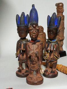 Group of Yoruba ere ibeji.