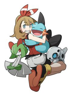 Safebooru is a anime and manga picture search engine, images are being updated hourly. Haruka Pokemon, Lucario Pokemon, Mudkip, Pokemon People, Pokemon Funny, Pokemon Games, Pokemon Stuff, Pokemon Pokemon, Pokemon Rosa