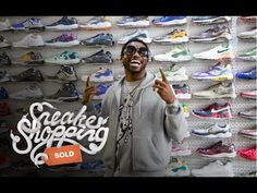 KIX & LIDZ: Video: Sneaker Shopping With Gucci Mane   Complex...Gucci Mane goes Sneaker Shopping with Joe La Puma at Stadium Goods in New York City where he talks about weight loss, wearing sneakers in jail, and his days of drug dealing.