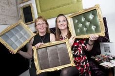 Exhibiting at the Food and Hospitality Show in the RDS September 2014 (L to R Lorraine Malone and Louise Higgins, Perfect Headboards,)