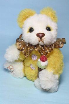 OOAK Artist Bear, Pretzel by Waynestonebears