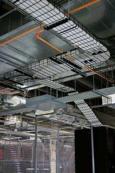 Here's a look at some of the overhead cabling infrastructure at a data center supporting Codero's services. (Photo: Codero)