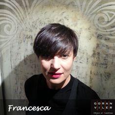 """Francesca (marzo 2014) - Aiutaci a scegliere la cliente del mese mettendo un """"mi piace"""" sulla foto che preferisci :) #capelli #trieste https://www.facebook.com/GoranVilerHairSpa"""