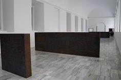"""Equal-Parallel: Guernica-Bengasi"" (""Igual-Paralelo: Guernica-Bengasi"") Richard Serra #art #arte #artecontemporáneo #contemporaryart #escultura #sculpture . Museo Reina Sofía Madrid. #Arterecord https://twitter.com/arterecord"