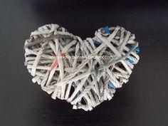EkoWyplatanki: Serce z codziennej prasy