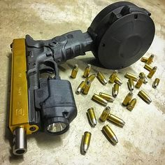 Glock...Loading that magazine is a pain! Get your Magazine speedloader today! http://www.amazon.com/shops/raeind
