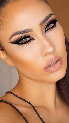 120 sexy makeup ideas that will inspire you – page 1 Sexy Eye Makeup, Glam Makeup, Makeup Inspo, Eyeshadow Makeup, Makeup Inspiration, Beauty Makeup, Eyeliner, Hair Makeup, Make Up Looks