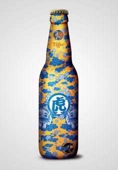 Special Edition Tiger Beer – full shrink label