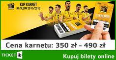 Kup Pan karnet! Skra Bełchatów - sezon 2015/2016. Cena: od 350 - 490 zł. Zamówić karnet można tutaj: http://ticketik.pl/#!/Wydarzenie/12