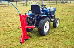 NEW Subsoiler / Ripper & Pipe Layer - Tractor Mounted (For Compact Tractors) Compact Tractor Attachments, Compact Tractors, Agriculture Farming, Types Of Soil, Water Pipes, Outdoor Power Equipment, Layers, Link, Ideas