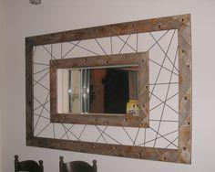 Χειροποίητη δημιουργία μου σε ξύλο-σχοινιά-υπάρχει δυνατότητα διαφοροποιήσεων. Mirror, Furniture, Home Decor, Decoration Home, Room Decor, Mirrors, Home Furnishings, Home Interior Design, Home Decoration
