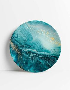 Blue Marble Plate