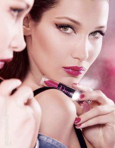 Isabella Hadid, Septum Ring, Lipstick, Beauty, Jewelry, Lipsticks, Jewlery, Jewerly, Schmuck