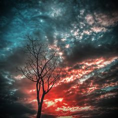 in the sky, there is more then atmosphere, there is beauty, there is color.