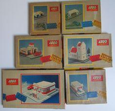 Vintage Lego sets 1950s