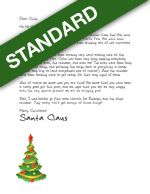 Looking for a free printable Letter from Santa? We have them!! Look for the green banners! Want something even more Magical? Look for the red banners!! Letters from Santa || www.easyfreesantaletter.com