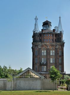 This disused water-tower in the Netherlands became the fabulous Villa Augustus Hotel and restaurant.