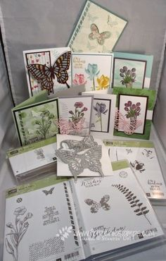 Stamp & Scrap with Frenchie: Class in the Mail Butterfly Basic, Lotus Blossoms, Love is Kindness and more