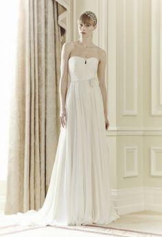 #JennyPackham apresenta Coleção #Noivas 2014 #casarcomgosto