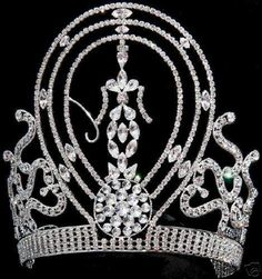 Vintage Miss Universe Crown used from 1970 to 2001