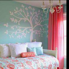 Perfect little girls room.