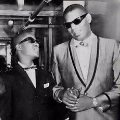 Stevie Wonder & Ray Charles #PurelyInspiration