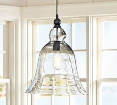 I have been in love with these bell pendant lights on the Pottery Barn US site for over 6 months, unfortunately they are not available in Australia, however I am still inspired to try and find something like this for over our kitchen bench. We have a rather large island bench going in and think 3 would look amazing. #lighting