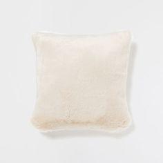 CREAM FUR PILLOW - Decorative Pillows - Decor and pillows | Zara Home United States