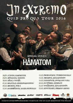 In Extremo - Quid Pro Quo Tour 2016