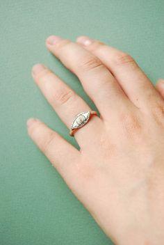 Watchful Eye - sterling silver ring. $60.00, via Etsy.